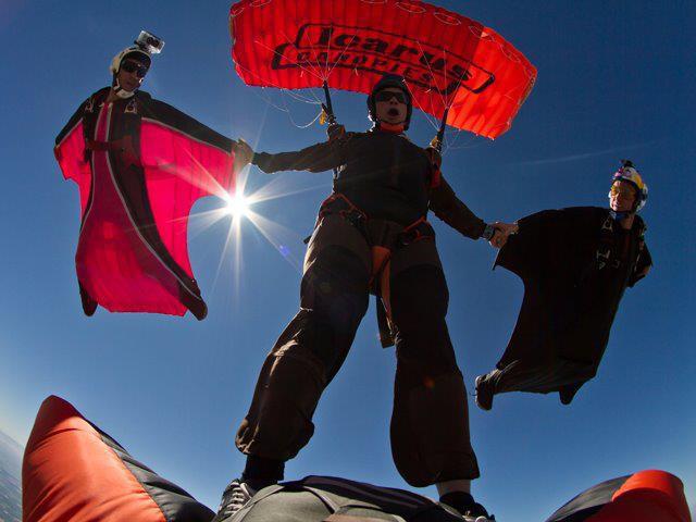 wingsuit  canopy