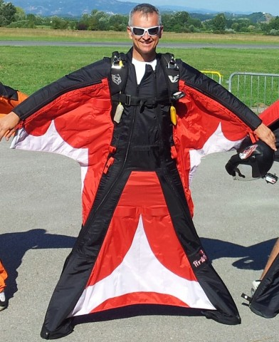 Alex Piranha Wingsuit